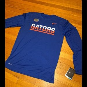 University of Florida Nike Dri-Fit Longsleeve Sz M